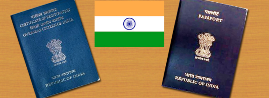 OCI or Overseas Citizen of India Card