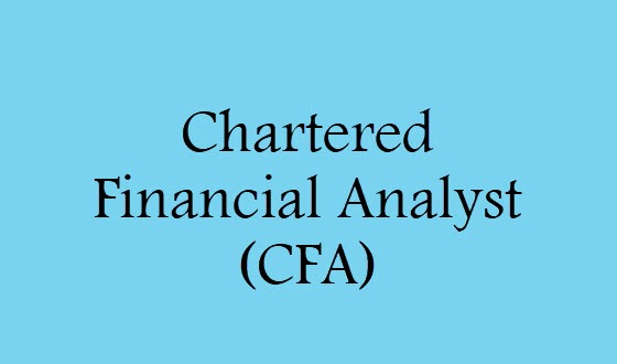 CFA Full Form: Chartered Financial Analyst